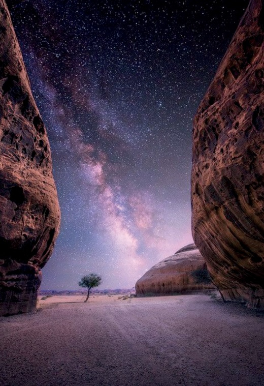 The Al'Ula Governorate is located in the Northwest of Saudi Arabia and covers an area of 23,301 square kilometers (5.8 million acres). [EMBASSY OF THE KINGDOM OF SAUDI ARABIA]