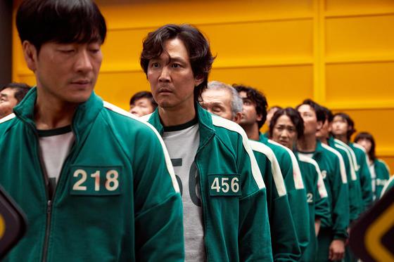 A scene from Netflix Korean original ″Squid Game″ [NETFLIX]
