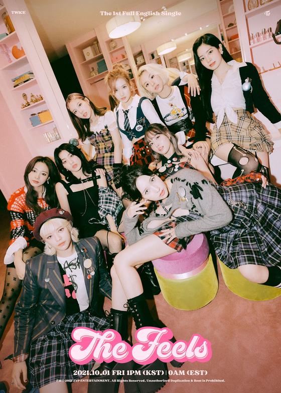 Girl group Twice [JYP ENTERTAINMENT]