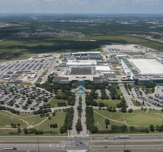 Samsung Electronics' chip plant in Austin, Texas [Samsung Electronics]