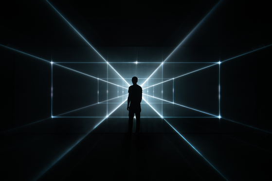 """""""Chaotic Times"""" by United Visual Artists and Peggy Gou [LOTTE MUSEUM OF ART]"""