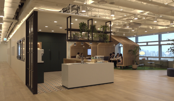 Inside the Bucketplace office in Gangnam, southern Seoul [JEON TAE-GYU]