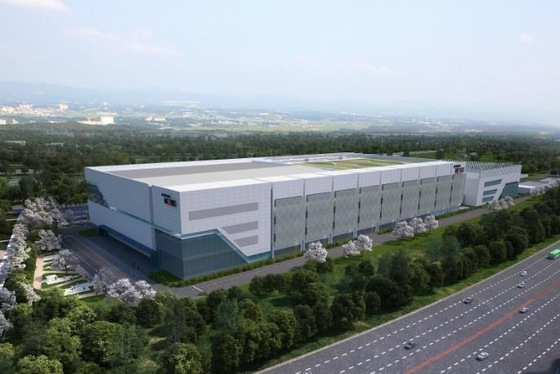 A computer-generated image of Hyundai Mobis' fuel cell system factory in Cheongna, Incheon [HYUNDAI MOBIS]