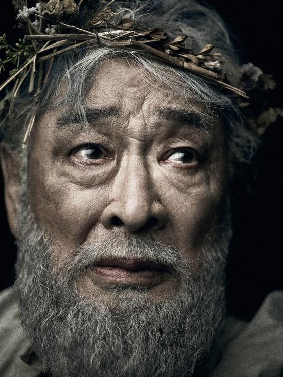 Veteran actor Lee Soon-jae will play Lear in Shakespeare's ″King Lear.″ [SEOUL ARTS CENTER]