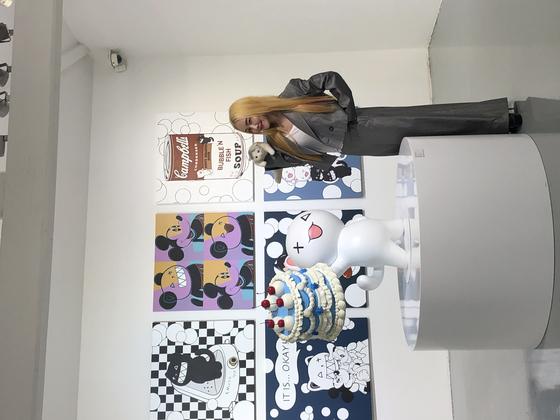 Pop artist Nancy Lang [SHIN MIN-HEE]