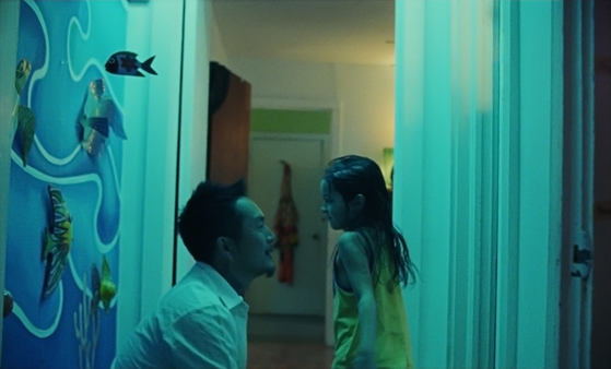 Antonio forges a strong father-daughter bond with his stepdaughter Jessie (played by actor Sydney Kowalske) in the film. [BIFF]