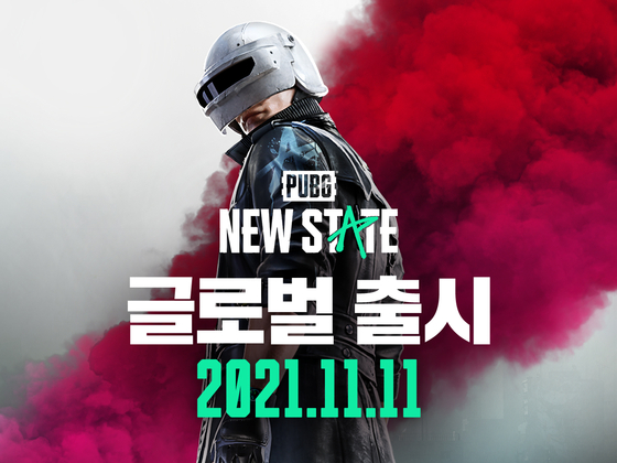 An image advertising Krafton's PUBG: New State, which will launch on Nov. 11 [KRAFTON]