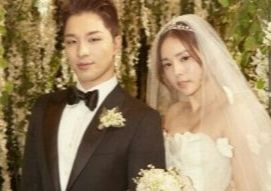 Singer Taeyang of Big Bang and actor Min Hyo-rin have been married since 2018. [YG ENTERTAINMENT]