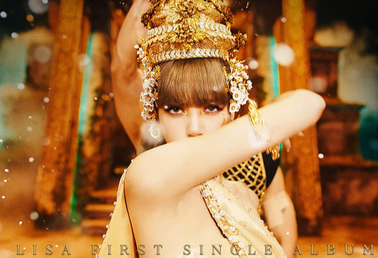 Blackpink member Lisa sets a new record on Wednesday, becoming the fastest solo female artist to reach 300 million views with her music video ″Lalisa.″ [YG ENTERTAINMENT]