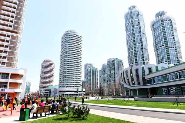 In Pyongyang, Gangnam-style development