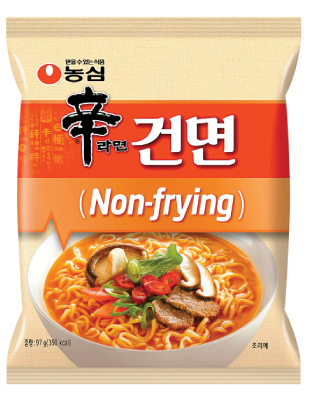 It's Shin Ramyun, but not as we know it