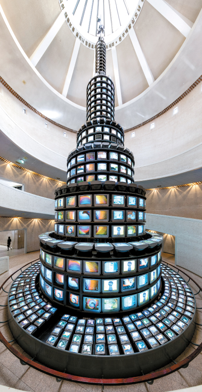 The More The Better Has A Monitor Problem The Screens On Nam June Paik S Biggest Work Are Staying Retro
